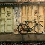 Rusty, a Painting by parthiban