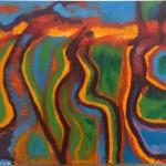 Seahorse Estuary, a painting by paulys art