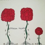 Rose family, a drawing by Real.ity_Art