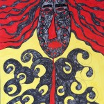 Angel, a painting by samaneh atef