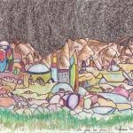 Un pas de plus, a drawing by Stéphane Rossi