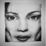 eyes , a drawing by Zoart